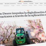 alquiler John Deere de tractores