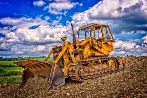 alquiler de maquinaria de construcción excavadoras